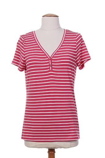 escorpion t-shirts femme de couleur rouge