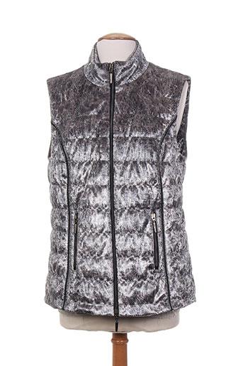 faber manteaux femme de couleur gris