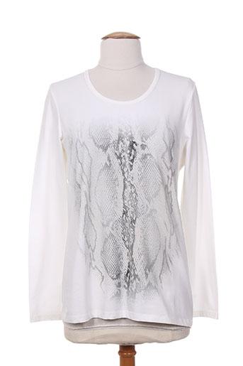 faber t-shirts femme de couleur blanc
