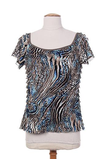 joseph ribkoff chemises femme de couleur bleu