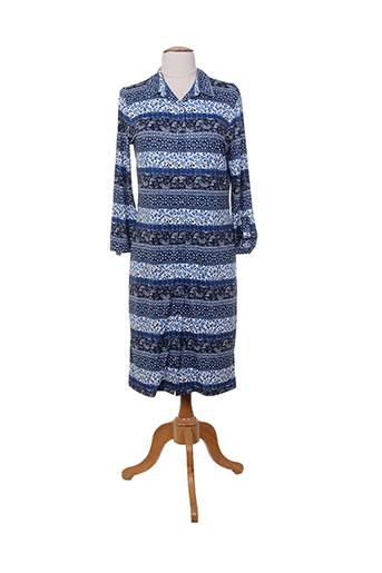escorpion robes femme de couleur bleu