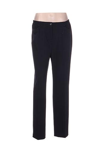 richy pantalons femme de couleur bleu