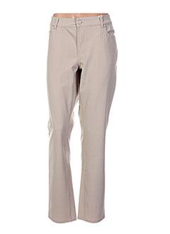Pantalon casual beige CMK pour femme
