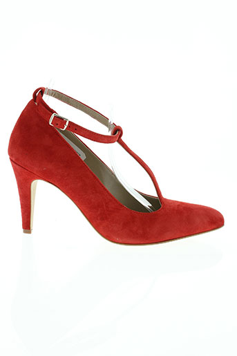 la fee maraboutee chaussures femme de couleur rouge