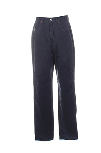 in wear pantalons femme de couleur bleu