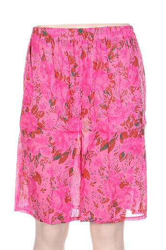 laurence tavernier shorts / bermudas femme de couleur rose