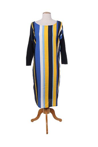 benetton robes femme de couleur bleu