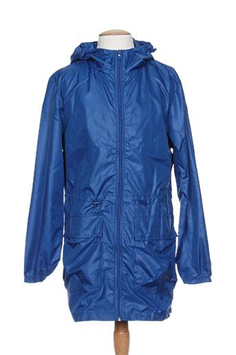 benetton manteaux homme de couleur bleu