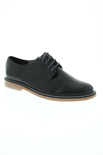 benetton chaussures homme de couleur noir