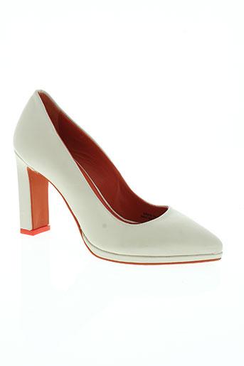 benetton chaussures femme de couleur beige