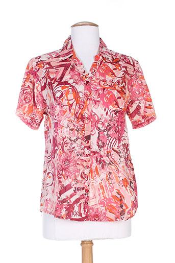 agathe EFFI_CHAR_1 louise chemises femme de couleur orange