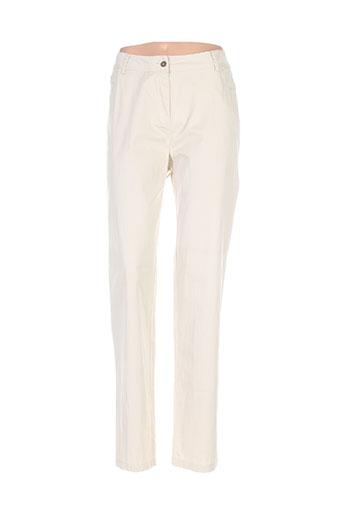 agatha ruiz de la prada pantalons femme de couleur beige