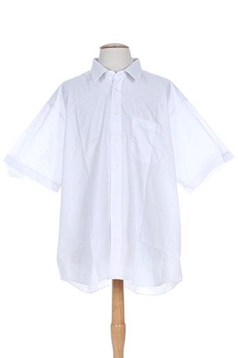 bande originale chemises homme de couleur blanc