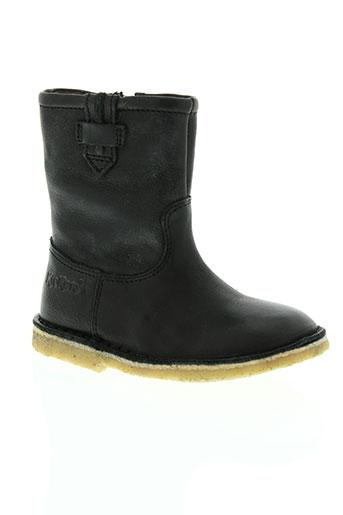 kickers chaussures garçon de couleur noir