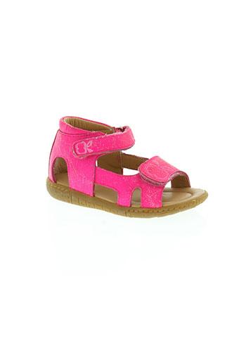 pom d'api chaussures fille de couleur rose