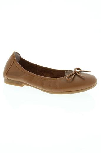 unisa chaussures fille de couleur marron