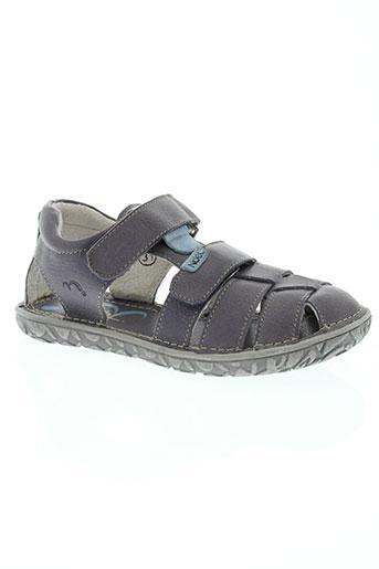 noël chaussures garçon de couleur violet