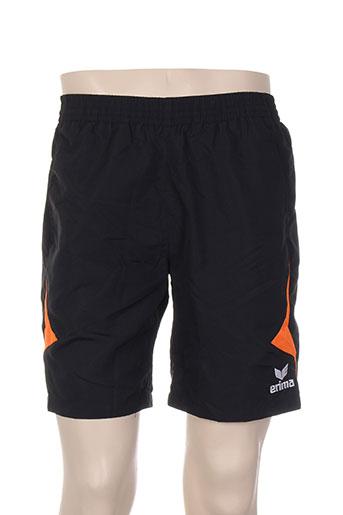 erima shorts / bermudas homme de couleur noir
