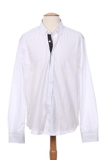 benson EFFI_CHAR_1 cherry chemises homme de couleur blanc