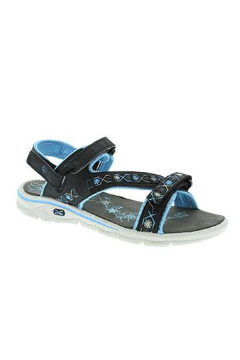 hi-tec chaussures femme de couleur bleu
