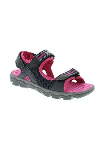 regatta chaussures fille de couleur noir