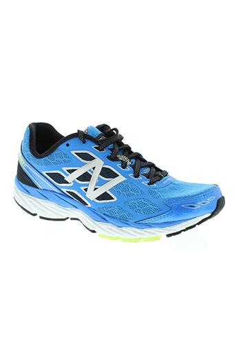 new balance chaussures homme de couleur bleu