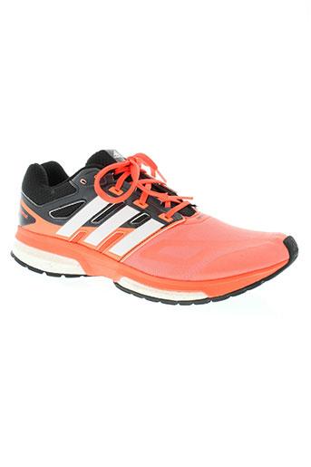 adidas chaussures homme de couleur orange