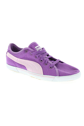 puma chaussures femme de couleur violet
