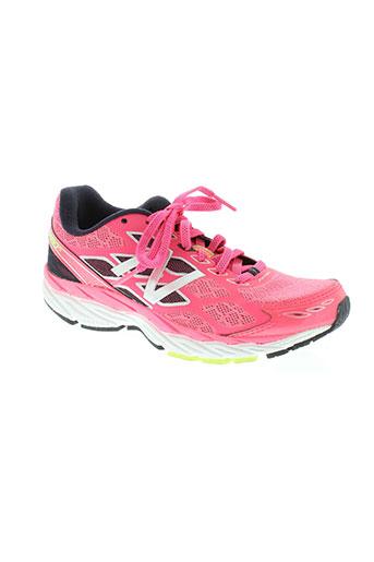 new balance chaussures femme de couleur rose