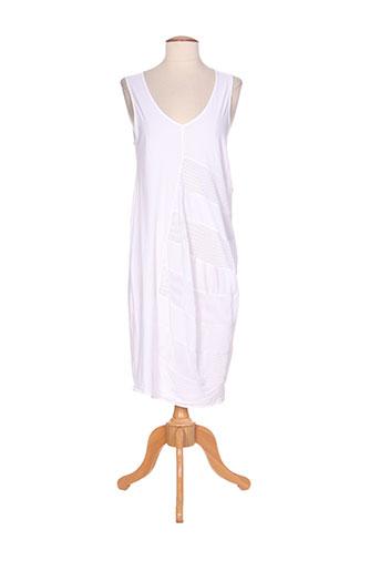 mc planet robes femme de couleur blanc