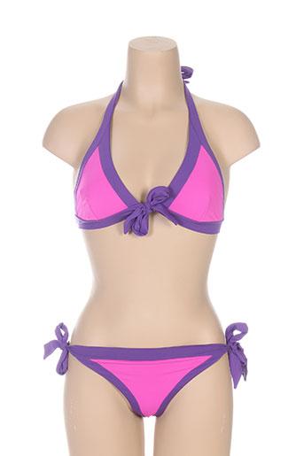 masquenada maillots de bain femme de couleur violet