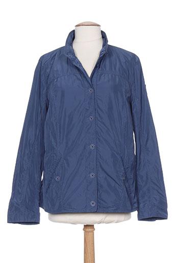 concept k vestes femme de couleur bleu