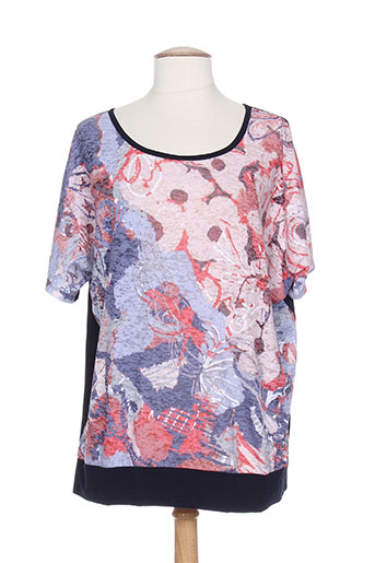bagoraz t-shirts / tops femme de couleur bleu