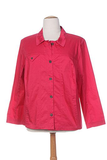 telmail vestes femme de couleur rouge