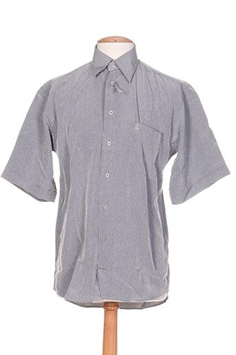 bande originale chemises homme de couleur gris