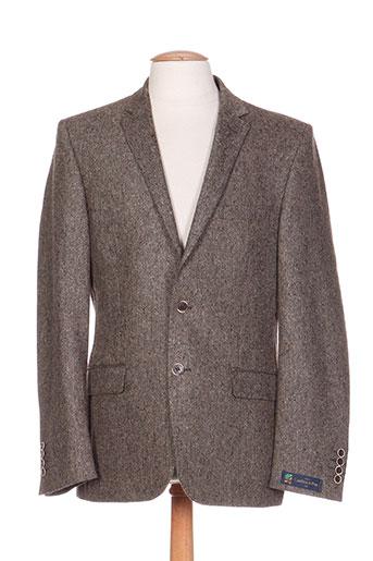 lanificio vestes homme de couleur marron