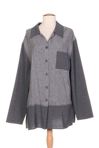 tayfa vestes femme de couleur gris