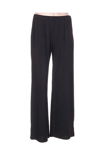 tilber pantalons femme de couleur noir