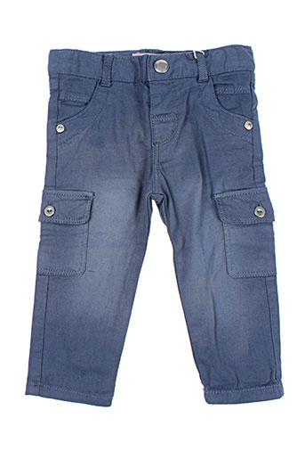 boboli pantalons garçon de couleur bleu