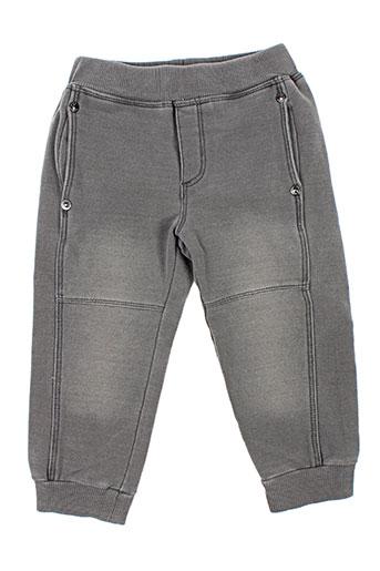 boboli pantalons garçon de couleur gris