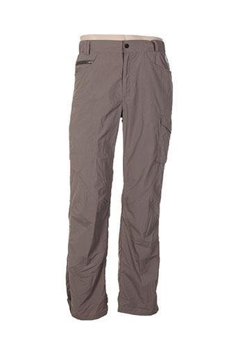 fusalp pantalons homme de couleur gris