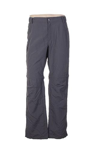 salomon pantalons homme de couleur gris