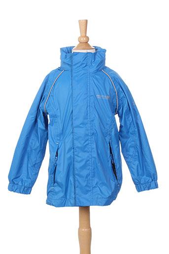 regatta manteaux garçon de couleur bleu