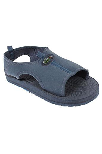 lacoste chaussures garçon de couleur bleu
