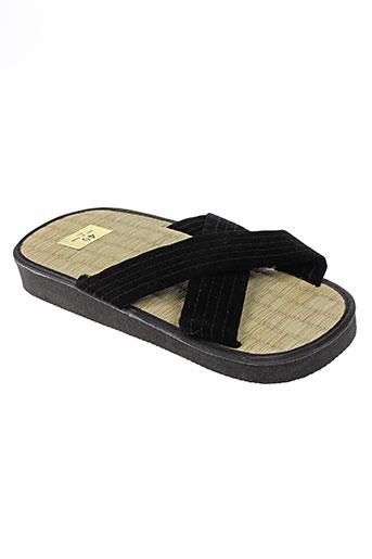 matsuru chaussures femme de couleur noir