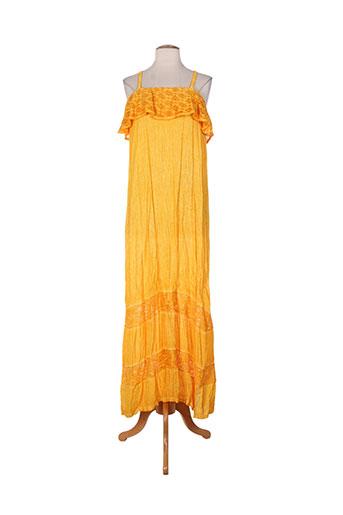 et si.... robes femme de couleur jaune
