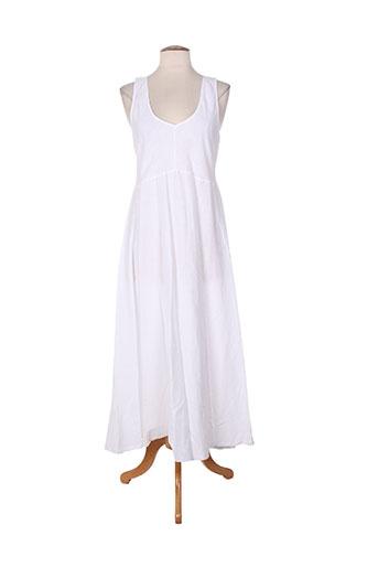 et si.... robes femme de couleur blanc