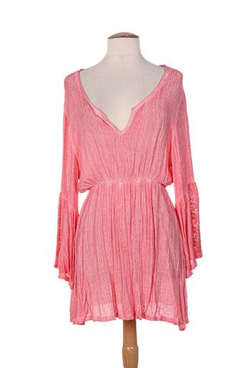 et si.... tuniques femme de couleur rose