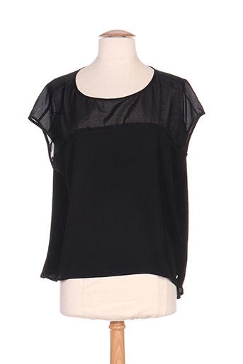 river woods chemises femme de couleur noir