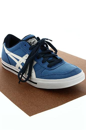 onitsuka chaussures garçon de couleur bleu